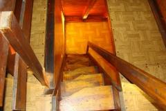 Schody w domku Brda